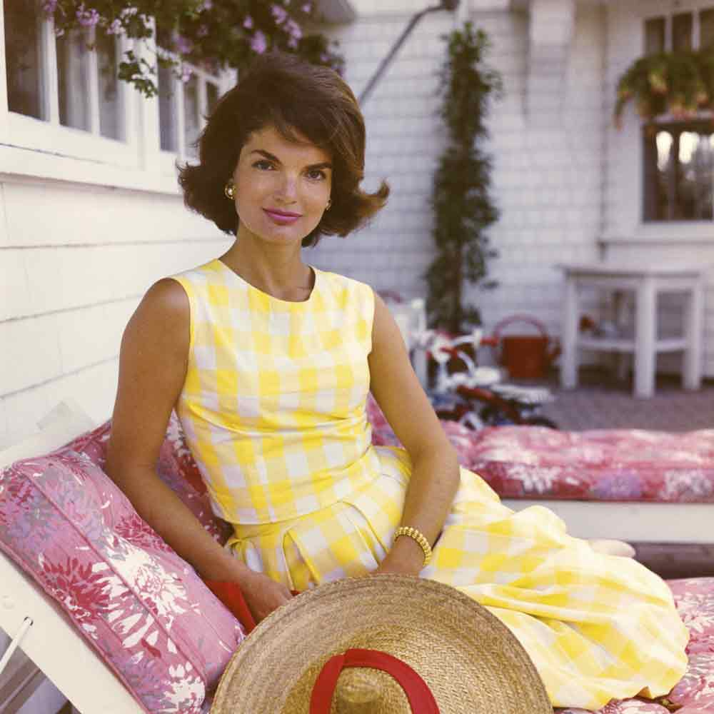 Jackie Kennedy 1960s style icon