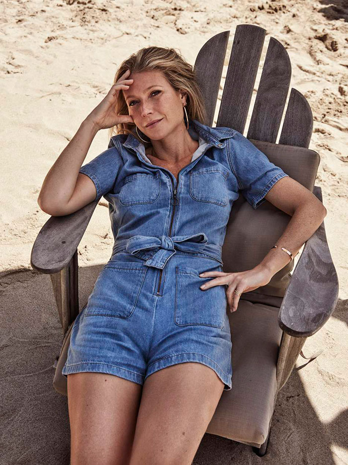 gwyneth paltrow warm skin under tone fashion style
