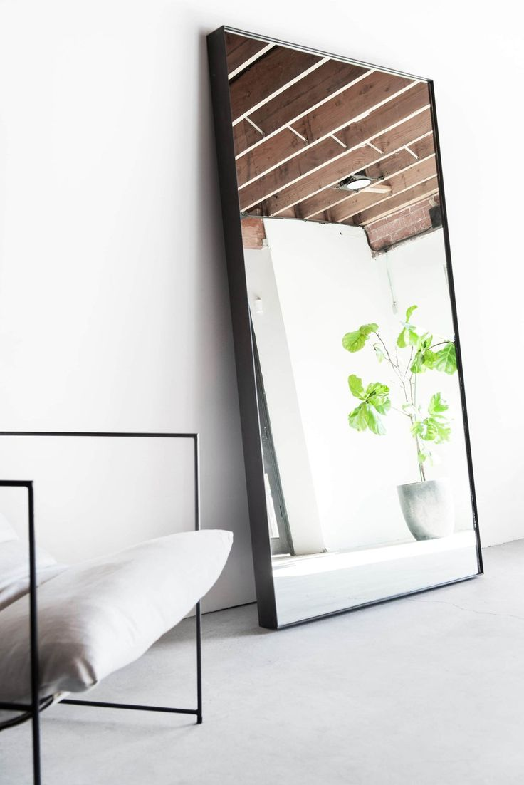 Giant Mirror with Steel Frame