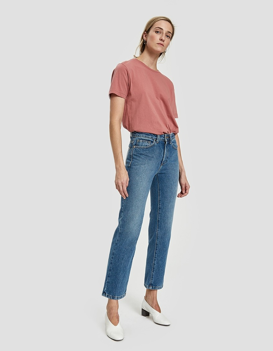 Classic Straight-Leg Jeans From Need In 96