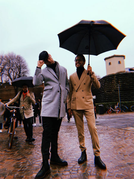 Winter Semi-Formal Street Style For Men At Pitti Uomo Show