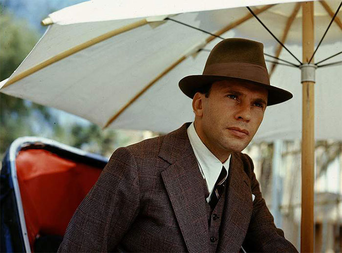 Jean-Louis Trintignant Playing Marcello Clerici In The Conformist