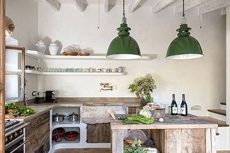 A rustic mountain home in Mallorca, Spain
