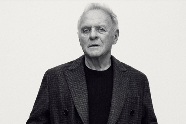 Sir Anthony Hopkins for Brioni