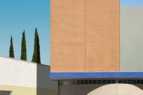The urban space of Los Angeles as seen by photographer George Byrne