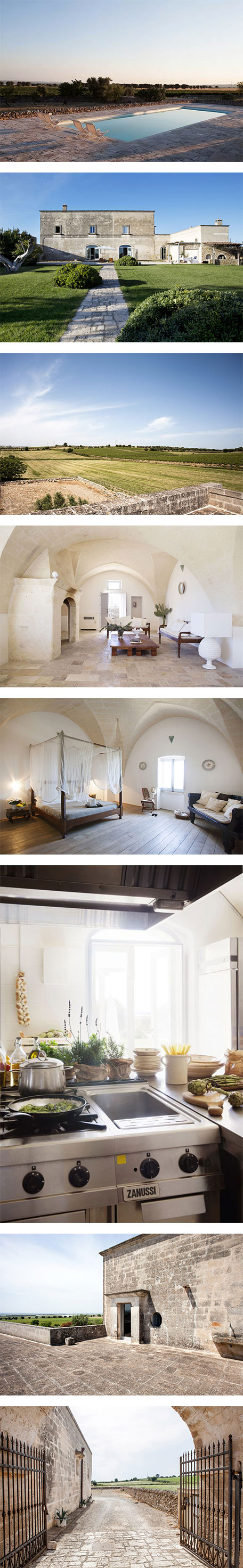 An 18th-century vineyard home in Puglia