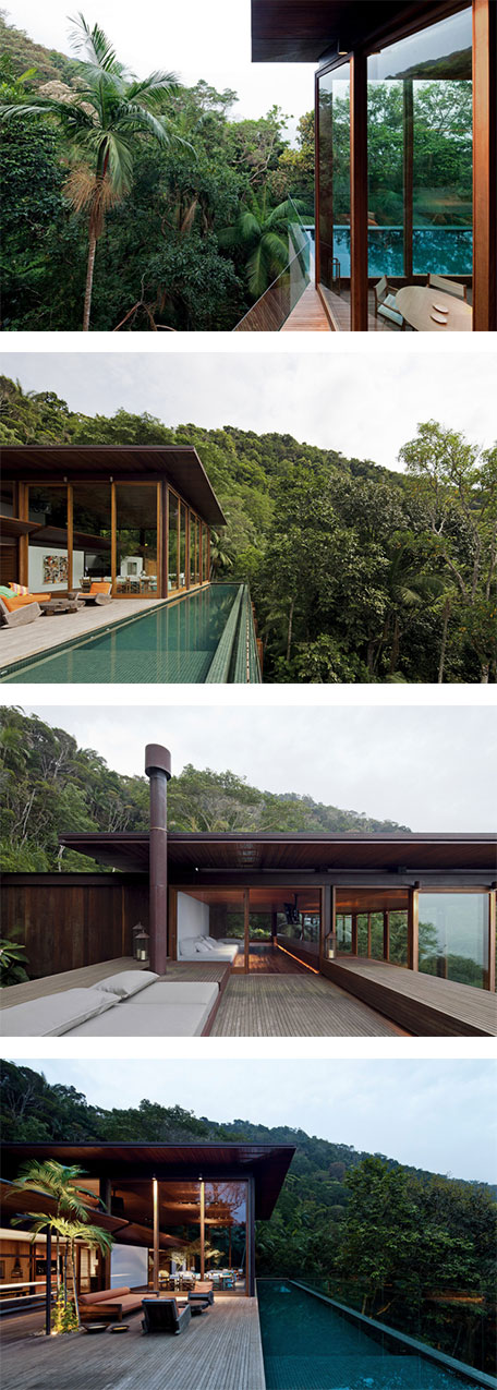 A home in jungle paradise